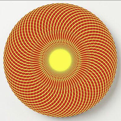John Zoller, 'John Zoller, Yellow Red Radiance', 2020