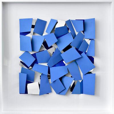 Christian Megert, 'Blaues Scherbenobjekt', 2017
