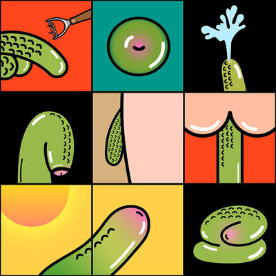 claudia chanhoi, 'Quarantine Mood - Pickle in Different Stages', 2020