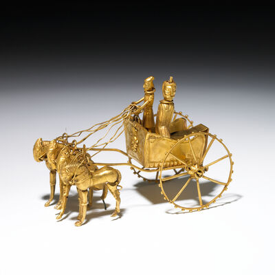 'Oxus chariot model', 5th-4th century B.C.