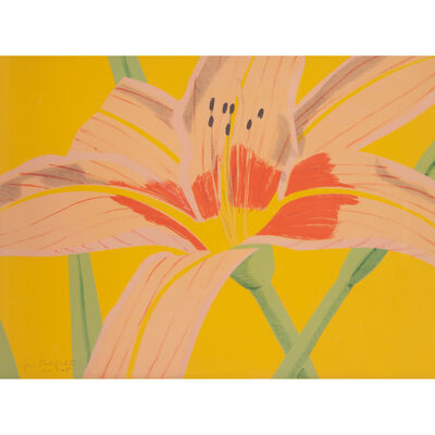 Alex Katz, 'Day Lily II', 1969
