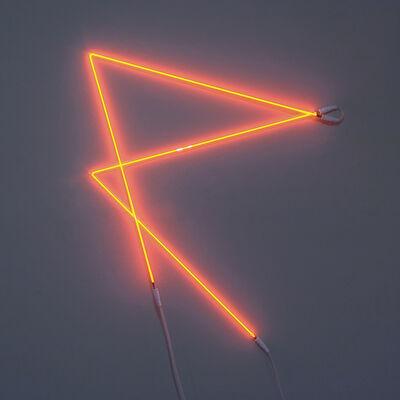 François Morellet, 'Signalisation n°1 P', 1994