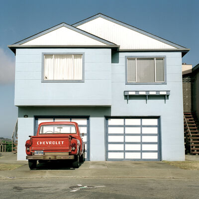 Jeff Brouws, 'Serenity, Daly City, California (Freshly Painted Houses)', 1991