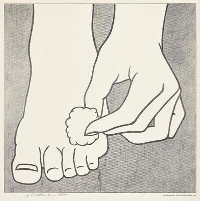 Roy Lichtenstein, 'Foot Medication', 1963