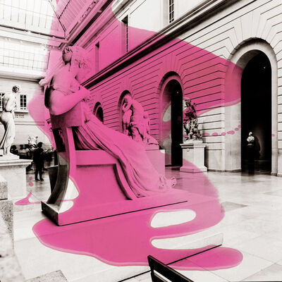 Pedro Peña, 'Museum Hall Pink', 2017