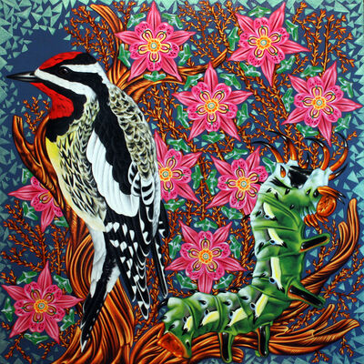 Kevin Veara, 'Exult #23 Yellow Bellied Sapsucker', 2017