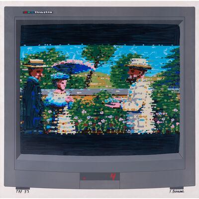 François Boisrond, 'L'impressioniste ou Canal+ sans le décodeur', 1989