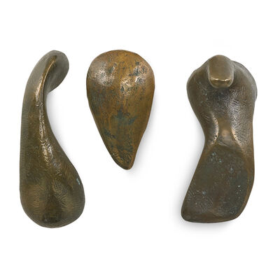 Joel Fisher, 'Doorknobs (three pairs, one set with backing plate)', 1989