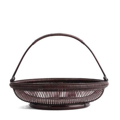 Tanabe Chikuunsai II, 'Bamboo Basket 16 21', 1910-2000