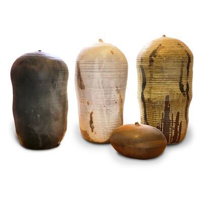 Toshiko Takaezu, 'Cluster of Various Closed Forms'