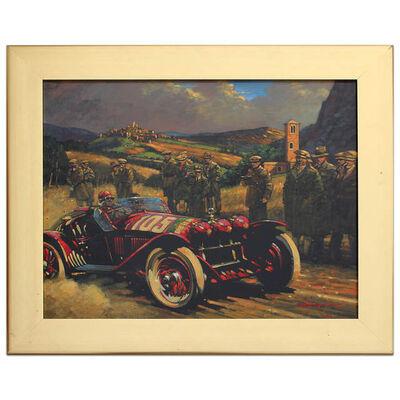 Barry Rowe, 'Tazio Nuvolari - Mille Miglia 1931 | Alfa Romeo | Automotive | Car', 2008