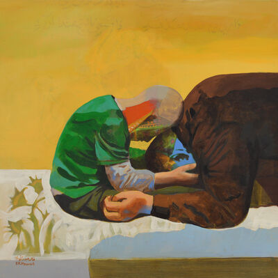 Khaled Hourani, 'Ahmad and His Father', 2018