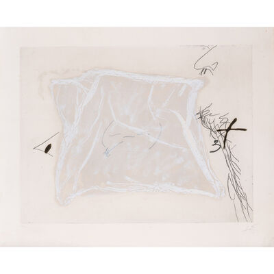 Antoni Tàpies, 'Mouchoir', 1971