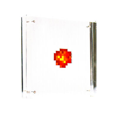 Invader, 'WIPE OUT STICKER (Framed)', 2015