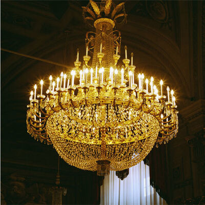 Doug Hall, 'Chandelier, Pitti Palace # 4', 1997