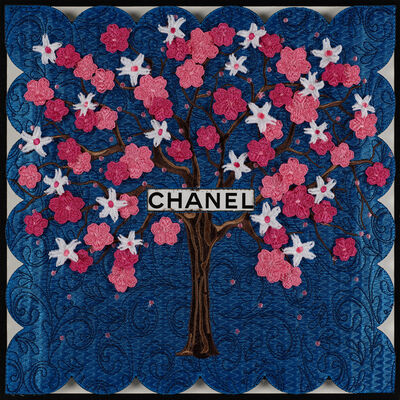 Stephen Wilson, 'Chanel Tree (Blue)', GFA1137