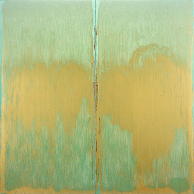 Pat Steir, 'Green Abyss', 2006