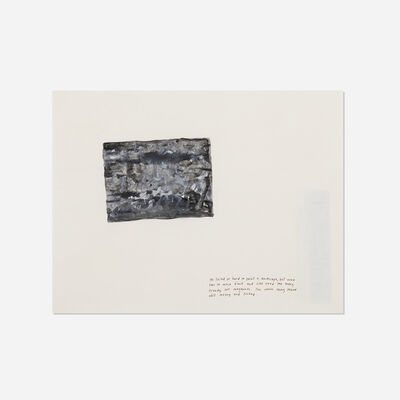 Jonathan Monk, 'He Tried So Hard To Paint A Landscape', 1997