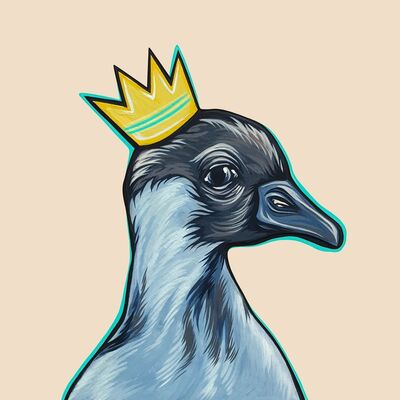 Kaitlin Ziesmer, 'Mighty Ducks: Teal Crown', 2019