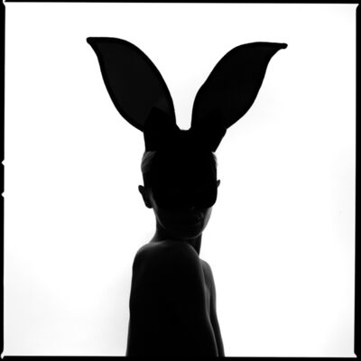 Tyler Shields, 'Bunny Silhouette', 2021