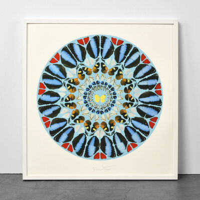 Damien Hirst, 'Damien Hirst, Psalm: Ad te, Domine, levavi (with Diamond Dust)', 2010