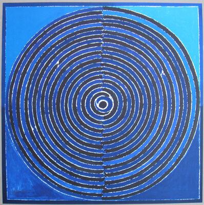 S. H. Raza, 'symboles 9', 2007
