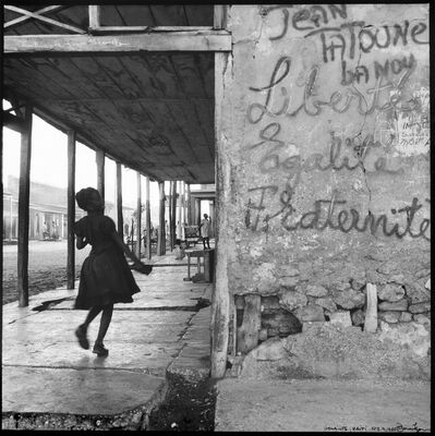 Danny Lyon, 'Gonaïves, Haiti, February 9, 1986', 1986