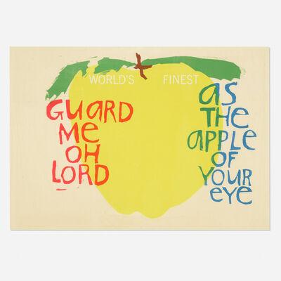Corita Kent, 'Song with an Apple', 1964