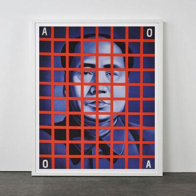 Wang Guangyi 王广义, 'Mao Zedong: Red Box (from Rhythmical Dichotomy Portfolio)', 2007-2008