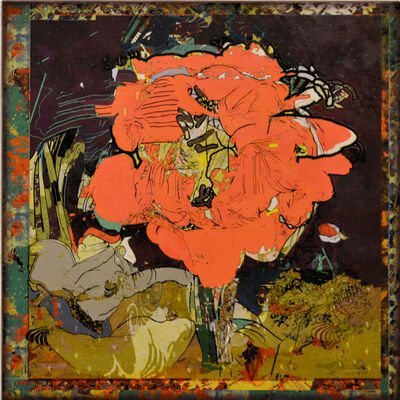 Robin Smith-Peck, 'Solitary Bloom (Scarlet)', 2019