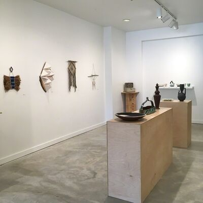 Working Pots III, Annual Juried Utilitarian Ceramics Exhibition & works by Janelle Gramling, installation view