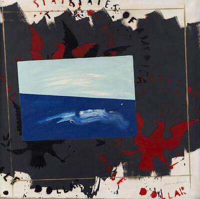 Franco Angeli, 'Paesaggio', prima metà anni '70