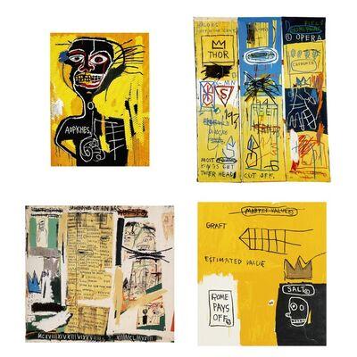 Jean-Michel Basquiat, 'Portfolio II'