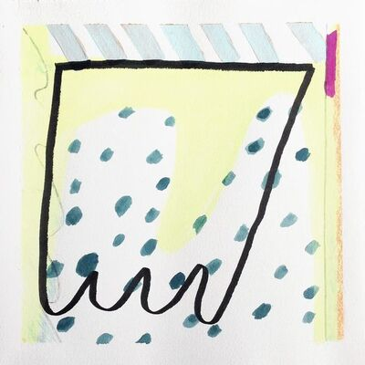 Jessica Simorte, 'Untitled (Green Water Dots)', 2014
