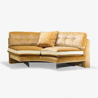 Vladimir Kagan, 'Single-section illuminated Omnibus sofa, New York'