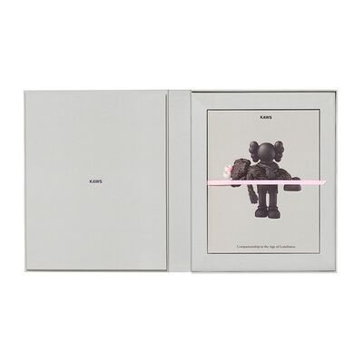KAWS, 'KAWS LIMITED EDITION ART BOOK WITH SCREEN PRINT ', 2019