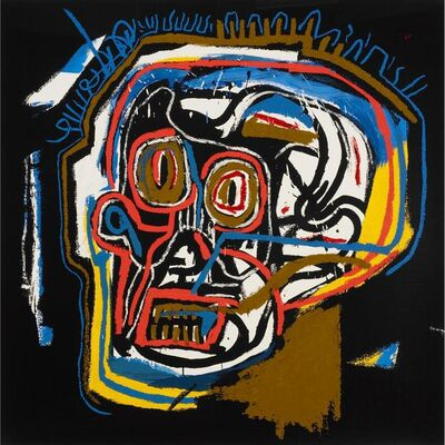 Jean-Michel Basquiat, 'Untitled (Head)', 1982