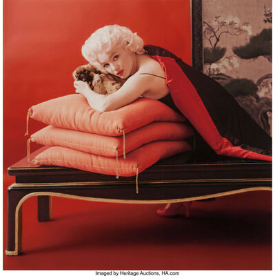Milton H. Greene, '02 from Pekingese Dogs Sittings', circa 1960