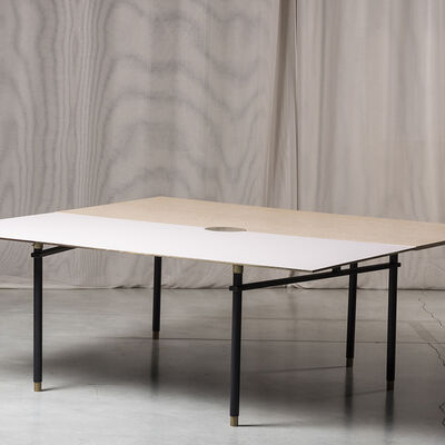 Massimiliano Locatelli, 'Double extendable dining table', 2020