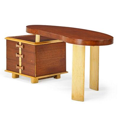 Paul T. Frankl, 'Rare Ameoba Desk', 1940s
