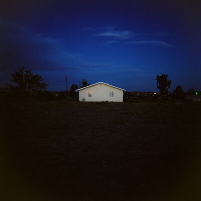 Allison V. Smith, 'Yellow House. June 2014. Marfa, Texas', 2014