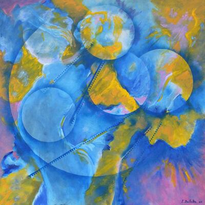 Evelyne Ballestra, 'Blue Moons', 2005