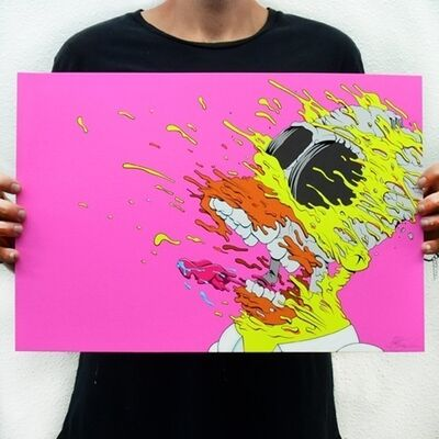 Matt Gondek, 'Deconstructed Homer Pink Cocaine Edition', 2020
