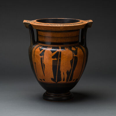 Unknown Greek, 'Attic Red-Figured Column Krater Attributed to the Boreas Painter', 460 BCE-430 BCE