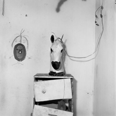 Roger Ballen, 'Horse Head on Chest of Drawers', 1998