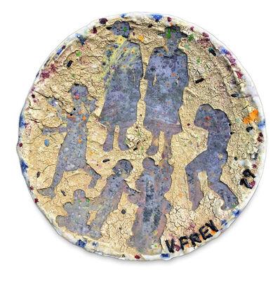 Viola Frey, '1979  Plate', 1979