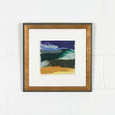Friedel Dzubas (1915-1994), 'Blue Tide', 1981