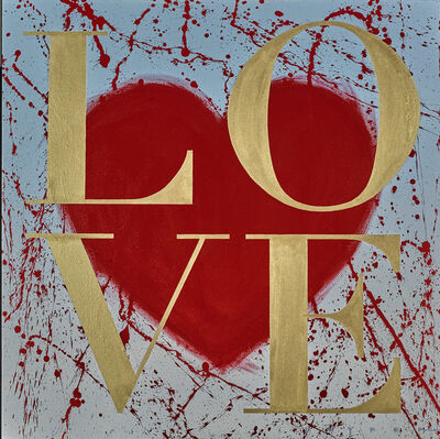 Robert Deyber, 'LOVE V', 2017