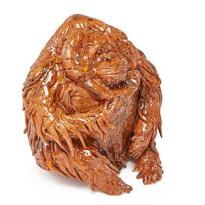 David Gilhooly, 'Untitled sculpture (Orangutan), California', 1969