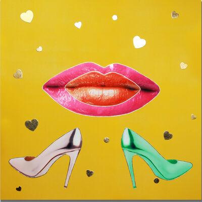 Kat Elagina, 'Yellow Kiss', 2019